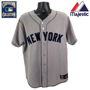 BABE RUTH #3 New York Yankees Men's L Large Jersey